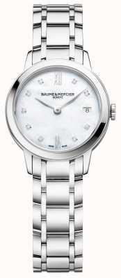 Baume & Mercier |女式|不锈钢|珍珠贝母表盘| M0A10490