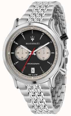 Maserati | epoca racing 42mm |不锈钢手链|黑色表盘 R8873638001