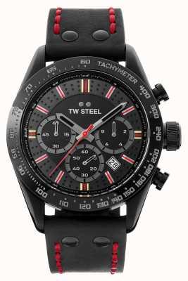 TW Steel 时光之子moksha | chrono |黑色表盘|黑色皮革 TW987