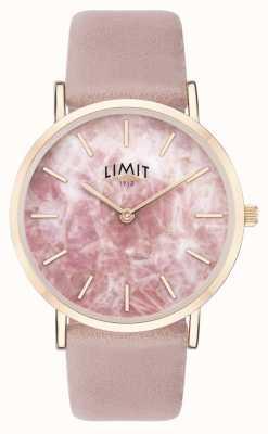 Limit |女性秘密花园|粉色皮革表带|粉色表盘| 60050.73