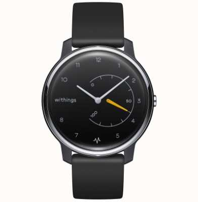 Withings 移动心电图 黑色和黄色 活动追踪器 HWA08-MODEL 1-ALL-INT
