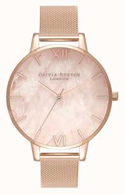 Olivia Burton |女装|半贵重|玫瑰金网状手链| OB16SP01