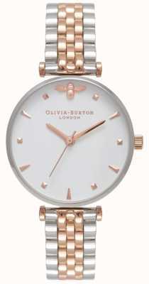 Olivia Burton |女士|蜂王|双色T条手链| OB16AM93