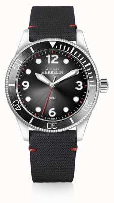 Michel Herbelin |男士|奖杯|黑色表盘|黑色表带| 12260/AN14