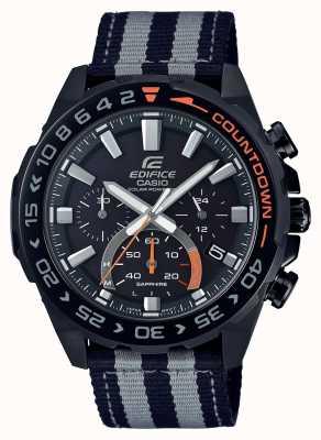 Casio |男士|大厦|溢价|黑色灰色表带|观看| EFS-S550BL-1AVUEF