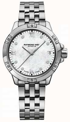 Raymond Weil |女探戈|镶钻表盘|不锈钢手链 5960-ST-00995