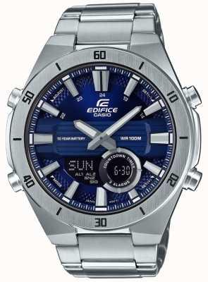 Casio |大厦|男士标准计时码表|蓝色表盘| ERA-110D-2AVEF