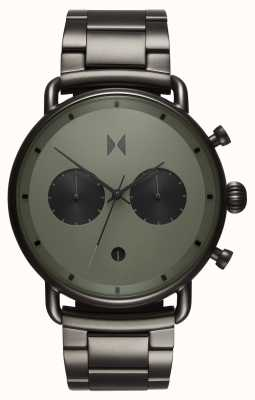 MVMT Blacktop拉力赛绿色青铜色| pvd手链|绿色表盘 D-BT01-OLGU