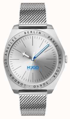 HUGO #act |不锈钢网|银色表盘 1530107
