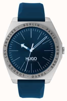 HUGO #act |蓝色橡胶表带|蓝色表盘 1530105