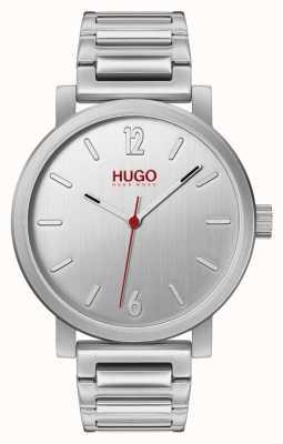 HUGO #rase |不锈钢手链|银色表盘 1530117