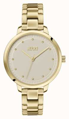 HUGO #achieve | gold ip bracelet |香槟色表盘 1540039