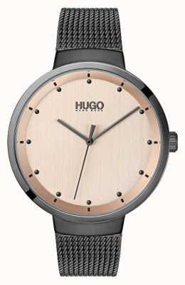 HUGO #go |灰色ip网格|玫瑰金表盘 1540003