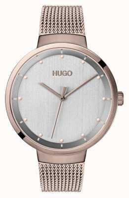 HUGO #go |玫瑰金ip网|灰色表盘 1540004