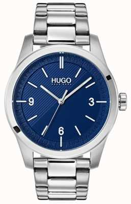 HUGO #create |不锈钢手链|蓝色表盘 1530015