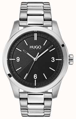 HUGO #create |不锈钢手链|黑色表盘 1530016
