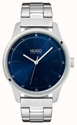 HUGO #dare |不锈钢手链|蓝色表盘 1530020