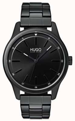 HUGO #dare |黑色ip手链|黑色表盘 1530040