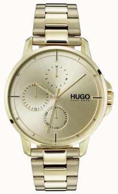 HUGO #focus | gold ip bracelet |金色表盘 1530026
