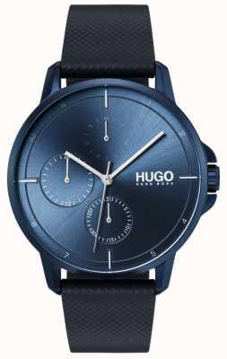HUGO #focus |蓝色皮革表带|蓝色表盘 1530033