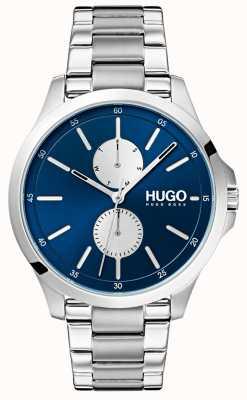HUGO #jump |不锈钢手链|蓝色表盘 1530004