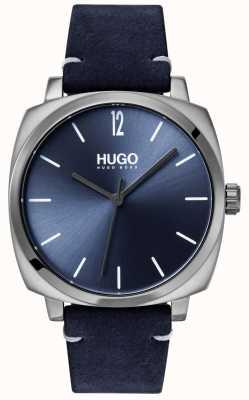 HUGO #own |蓝色皮革表带|蓝色表盘 1530069