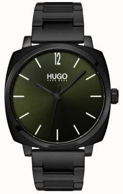 HUGO #own |黑色ip手链|黑色表盘 1530081