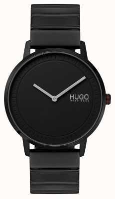 HUGO #echo |黑色ip手链|黑色表盘 1520020