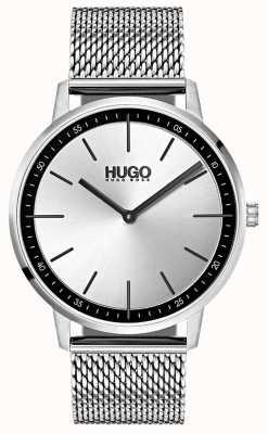 HUGO #exist |不锈钢网|银色表盘 1520010