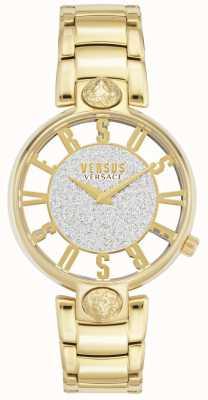 Versus Versace |女装kirstenhof |镀金手链|闪光表盘 VSP491419