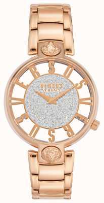 Versus Versace |女装kirstenhof |玫瑰金手链|闪光表盘| VSP491519