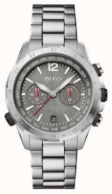 Boss |游牧民族|计时码表|钢手链|灰色表盘 1513774