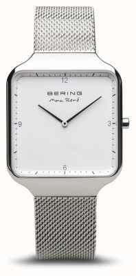 Bering   maxrené 抛光银 银色手链  15836-004