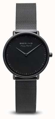 Bering | maxrené|妇女的垫子黑色|黑色钢网手链| 15730-123