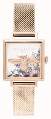 Olivia Burton |女装|魔法花园| 3d蜜蜂|玫瑰金网| OB16EG152