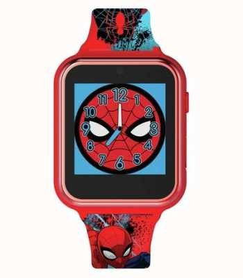 Avengers 智能手表红色塑料盒 印花硅胶表带  SPD4588