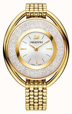 Swarovski 结晶 椭圆形黄金pvd手链 银色表盘 5200339