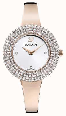 Swarovski |水晶玫瑰|玫瑰金手链|银表盘| 5484073