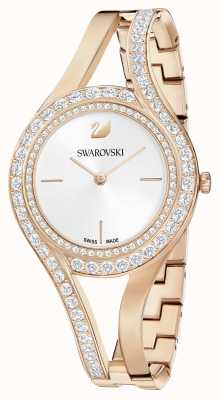 Swarovski |永恒玫瑰金钢手链|水晶套装|白色 5377576