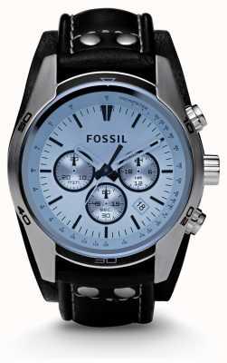 Fossil 男士蓝色表盘计时腕表 CH2564