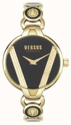 Versus Versace |圣日耳曼|金色不锈钢|黑色表盘| VSPER0319