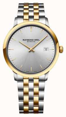 Raymond Weil |男士托卡塔|二音不锈钢|银表盘| 5485-STP-65001