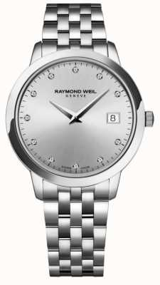 Raymond Weil 女装托卡塔 钻石 银色表盘 5388-ST-65081