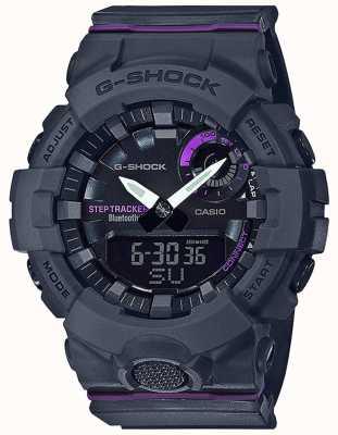 Casio | g-shock g-小队|灰色橡胶表带|蓝牙智能 GMA-B800-8AER