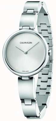 Calvin Klein |女士不锈钢手链|银表盘| K9U23146