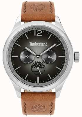 Timberland 城市生活者|棕色皮革表带|黑色表盘| 15940JS/13