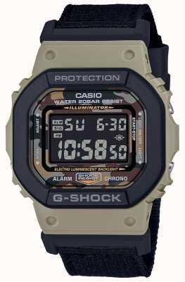 Casio G-shock |黑色表带|数码|秒表 DW-5610SUS-5ER