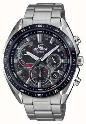 Casio |大厦|钢手链|秒表|黑色表盘 EFR-570DB-1AVUEF