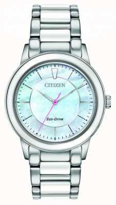 Citizen |女式|生态驱动器|浅蓝色表盘 EM0740-53D