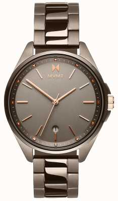 MVMT |科罗纳达女子|灰色离子电镀手链|灰色表盘 28000003-D